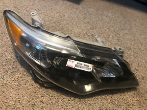 2012 2013 2014 Toyota Camry Se Right Headlight Assembly Oem