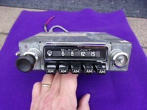 1968 1969 Vintage Blaupunkt Hamburg Very Nice Clean Good Playing Am Radio