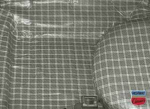 1965 66 Mustang Coupe Convertible Trunk Mat Plaid