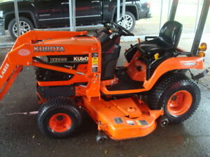 2006 Kubota Bx 2200 D front Loader And 60 Belly Mower