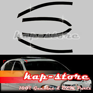 Smoke Door Window Vent Visor Deflector For 04 09 Chevrolet Lacetti optra 5 5dr