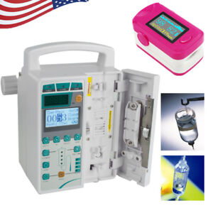 Syringe Infusion Pump Iv Fluid Infusion Audible Alarm For Human