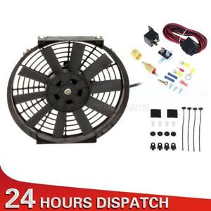 10 Electric Radiator Cooling Fan 185 Degree Thermostat Fan Wiring Relay Kit