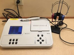 Maico Mi 26 Tympanometer audiometer Combo W Current Calibration Certificate