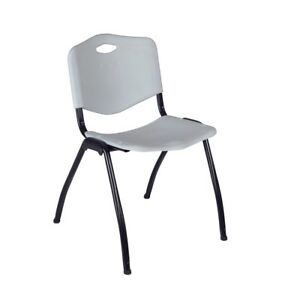 m Stack Chair Grey