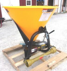 New Tar River Ssp 400 3 Pt Spreader seeder can Ship Cheap And Fast