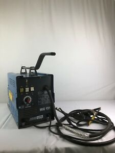 Chicago Electric Welding Systems Mig 151 Dual Mig Welder