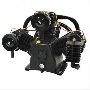 Industrial Polar Air 7 5hp 3 Cylinder 2 Stage Air Compressor Pump
