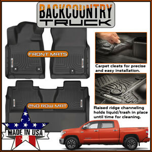 Backcountrytruck Full Coverage Liners Floor Mats Fit 14 19 Toyota Tundra Crewmax