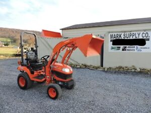 2015 Kubota Bx2370 Sub Compact Tractor Loader Diesel 4x4 3 Point Hitch Pto