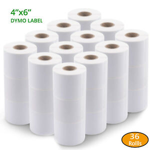 36 Rolls 220 Direct Thermal Address Shipping Labels Compatible For Dymo 1744907