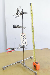Laboratory Clamp Stand Stainless Steel ctam 3973