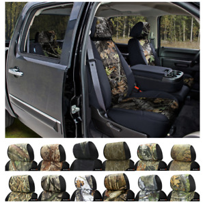 Coverking Mossy Oak Camo Custom Fit Seat Covers Chevy Silverado 1500
