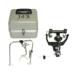 Denar Teledyne Hanau Wide vue Ii Dental Articulator W case Bow 6