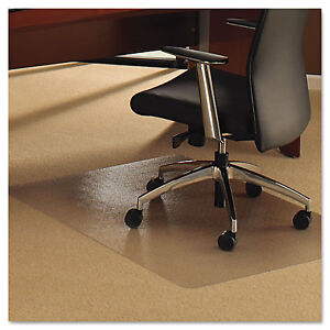 Floortex Cleartex Ultimat Chair Mat For Plush Pile Carpets 60 X 48 Clear