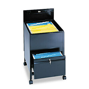 Safco Locking Mobile Tub File With Drawer Legal Size 20w X 25 1 2d X 27 3 4h