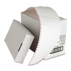 Sparco Index Cards Continuous feed Punched 3 x5 4000 ct We 01097