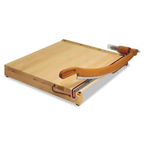 Swingline Classiccut Ingento Solid Maple Paper Trimmer 15 Sheets Maple Base 18 X
