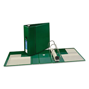 Avery Heavy duty Binder With One Touch Ezd Rings 11 X 8 1 2 5 Capacity Green