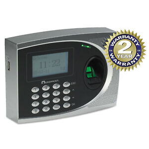 Acroprint Timeqplus Biometric Time And Attendance System Automated 010250000