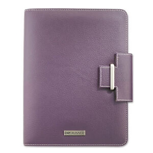 Day Runner Terramo Refillable Planner 5 1 2 X 8 1 2 Eggplant 4010214