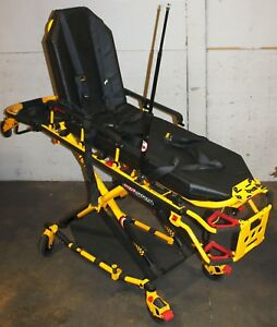 Stryker 6082 Mx pro R3 Ambulance Cot Stretcher Gurney W Cushion Free Shipping