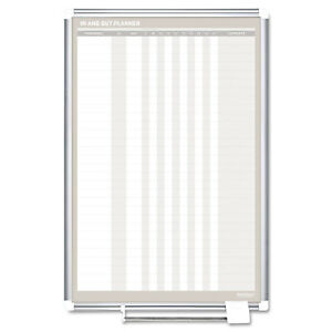 Mastervision In out Magnetic Dry Erase Board 24x36 Silver Frame Ga02109830