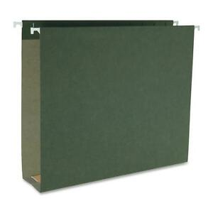 Business Source Hanging File Folders Ltr 1 5 Tab 2 Exp 25 bx Sdgn 43851
