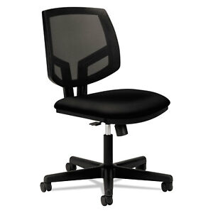 Hon Volt Series Mesh Back Task Chair Synchro tilt Black Fabric 5713ga10t