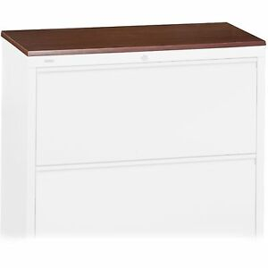 Lorell Lateral File Top 36 x18 5 8 1 Cherry 69028