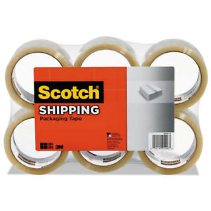 Scotch 3350 General Purpose Packaging Tape 2 83 X 54 6yds 3 Core Clear 6 pack