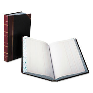 Boorum Pease Record account Book Journal Rule Black red 500 Pages 14 1 8 X 8 5