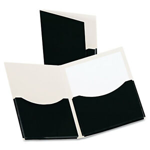 Oxford Double Stuff Gusseted 2 pocket Laminated Paper Folder 200 sheet Capacity
