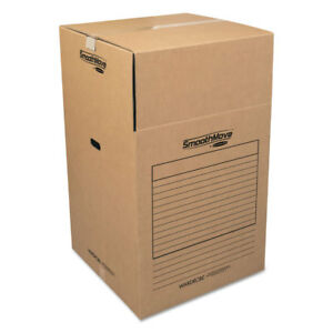 Bankers Box Smoothmove Wardrobe Boxes 24l X 24w X 40h Kraft blue 3 carton