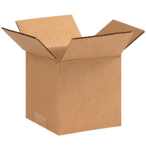 Box Partners Corrugated Boxes 5 X 5 X 5 Kraft 25 bundle 555