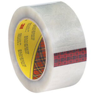 Scotch 3m 355 Carton Sealing Tape 3 5 Mil 2 X 55 Yds Clear 6 case T9013556pk