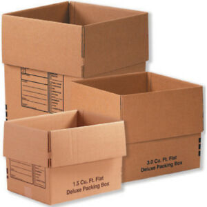Box Partners 1 Moving Shipping Box Combo Pack Kraft 1 Kit Mbcombo1