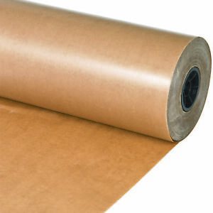 Box Partners Waxed Paper Rolls 18 Kraft 1 roll Wp1830