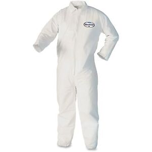Kimberly clark Kleenguard A40 Coveralls 3xl 25 ct White 44306