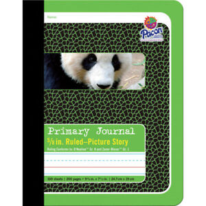Pacon Composition Book 5 8in picture Story 12 Ea 2428