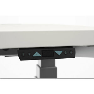 Hon Height adjustable Table Memory Controller 4 1 8w X 1 1 2d X 3 4h Black