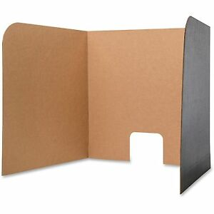 Flipside Products Computer Lab Privacy Screen Small 24 pk Bk bn 61858