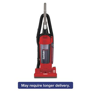 Sanitaire Hepa Filtration Upright Vacuum 17 Lb 3 5 Qt Red Sc5745b