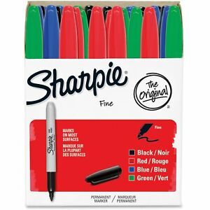 Sharpie Fine Tip Permanent Marker Assortment 36 pack 1921559