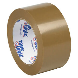 Tape Logic 53 Pvc Natural Rubber Tape 2 1 Mil 2 X 110 Yds Tan 36 case T90253t