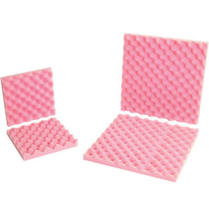 Box Partners Anti static Convoluted Foam Sets 16 X 16 X 2 Pink 12 sets Per