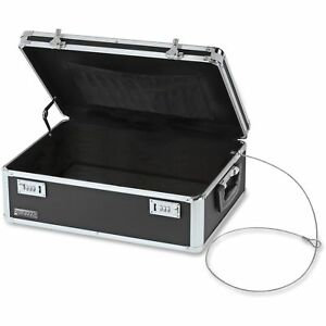 Vaultz Locking Storage Chest 14 1 2 X 8 X 19 1 2 Black Vz00323