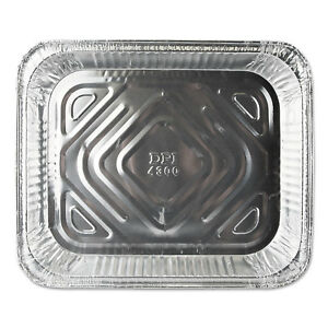 Durable Packaging Aluminum Steam Table Pans 12 3 4w X 10 3 8d X 1 11 16h
