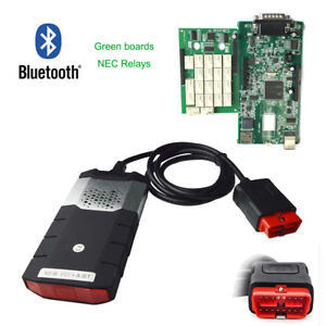 Bluetooth Auto Diagnostic Scanner Kits Obdii Cars Trucks Cd Software car Cables