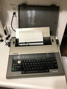 Brother Ax 20 Electric Typewriter W Cover